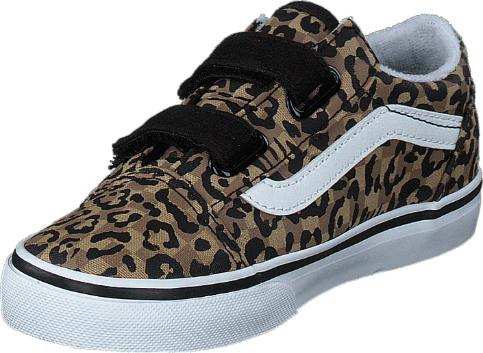 Vans - Td Old Skool V (animal Checkerboard) Leopard/