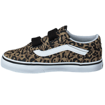 Td Old Skool V (animal Checkerboard) Leopard