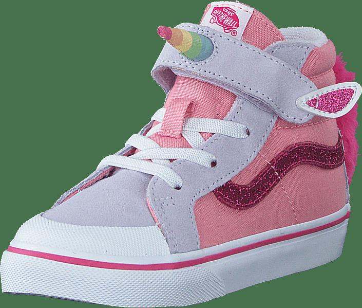 Td Unicorn Sk8-hi Reissue 138  (unicorn) Pink Icing/lavender