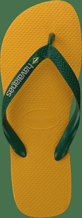 Havaianas Brasil Logo Banana Yellow Chaussures Homme