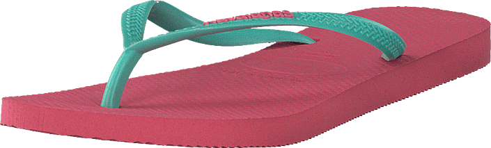 Havaianas - Slim Logo Pop Up Porcelain /rose Green