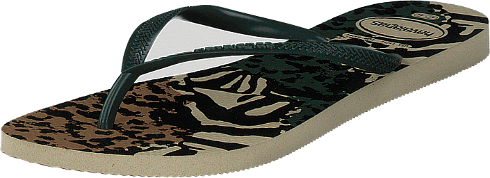 Havaianas - Animal Grey/green Olive
