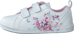 Veronica White 01 Flower Sneaker