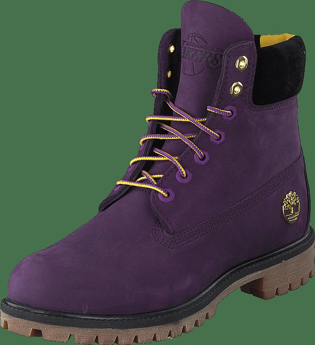 6 In Premium Boot Purple Pennant