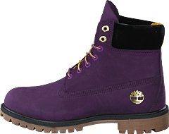 6 In Premium Boot Purple Pennant