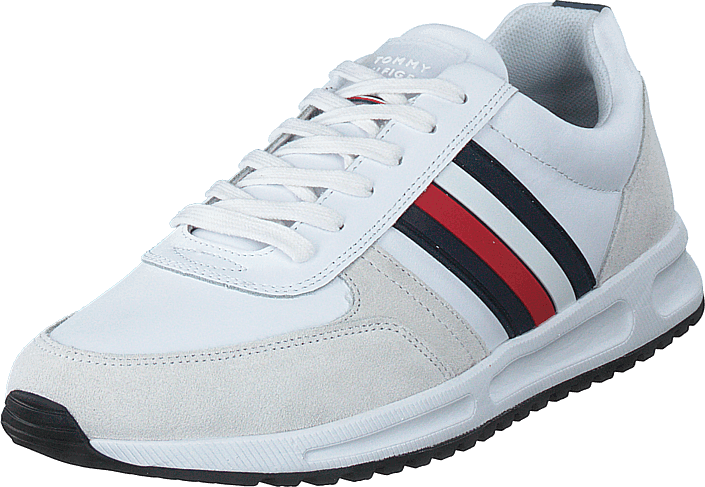 Tommy Hilfiger - Modern Corporate Leather Runne White Ybs