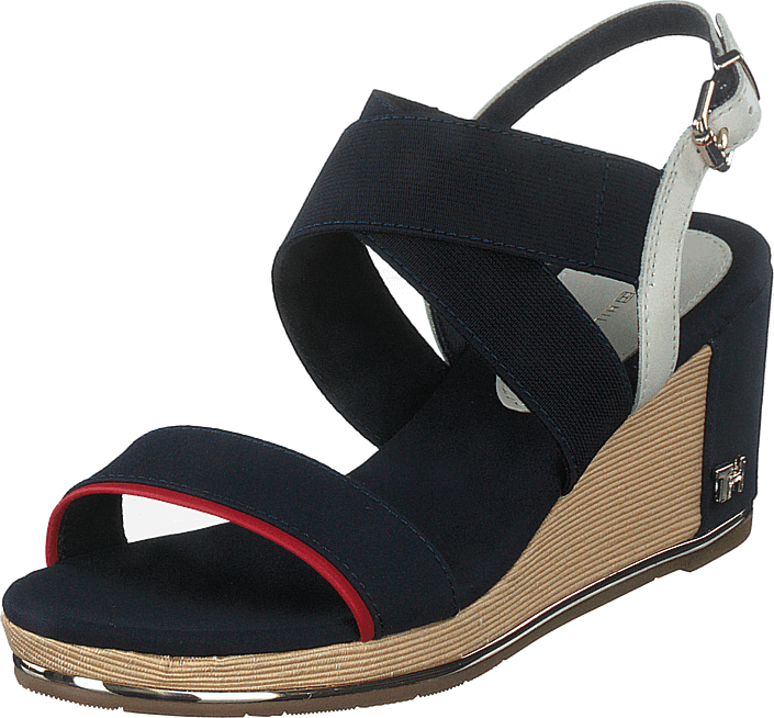 Tommy Hilfiger - Th Basic Hardware Mid Wedge Desert Sky Dw5