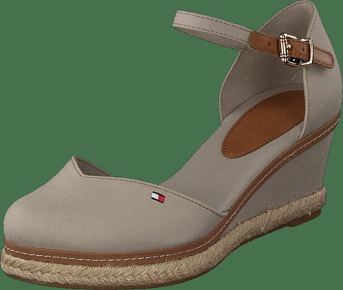 Basic Closed Toe Mid Wedge Stone Aep