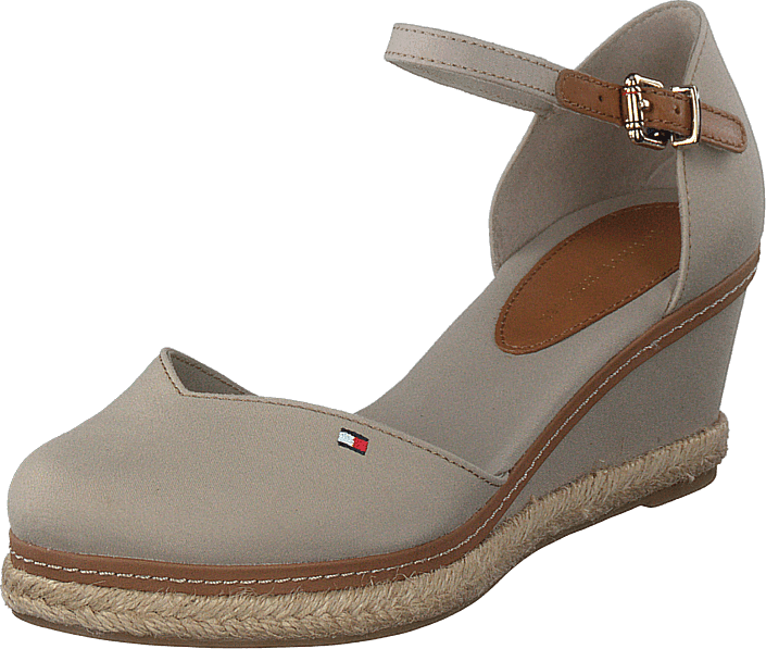 Tommy Hilfiger - Basic Closed Toe Mid Wedge Stone Aep