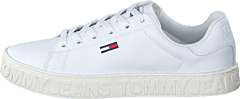 Cool Tommy Jeans Sneaker White 100