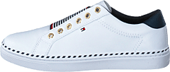 Tommy Elastic City Sneaker White Ybs