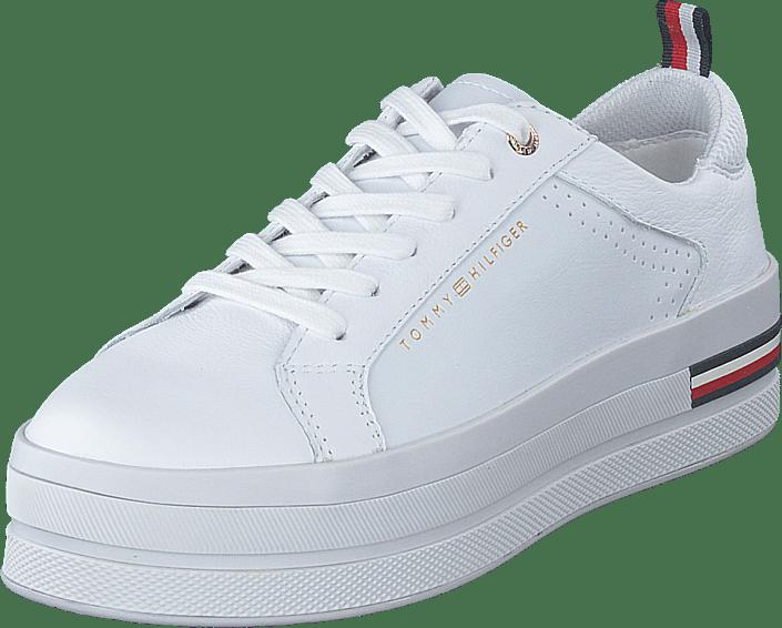 Modern Platform Sneaker White Ybs | Footway