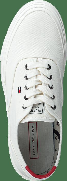 Core Oxford Twill Sneaker Ivory Ybi