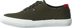 Core Oxford Twill Sneaker Army Green Rbn