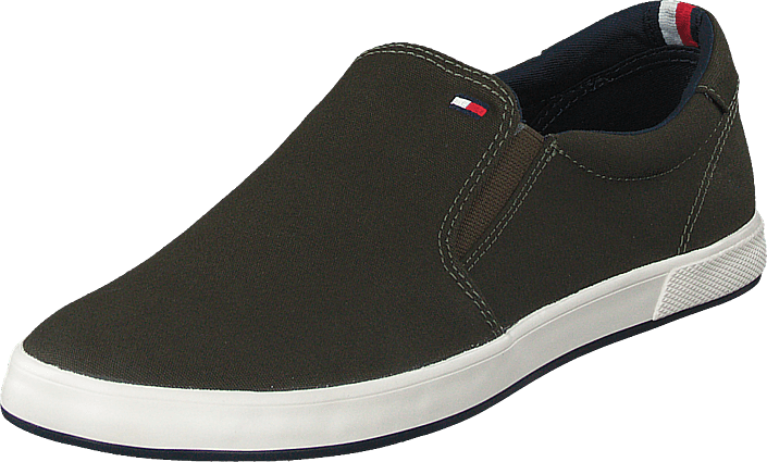 Iconic Slip On Sneaker Army Green Rbn