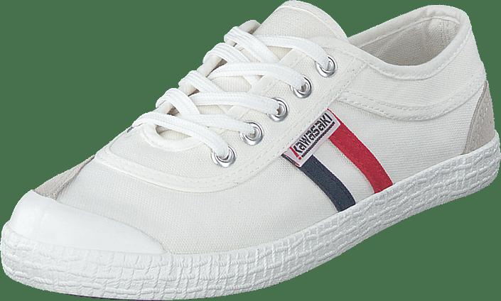 Kawasaki - Retro White - 1002