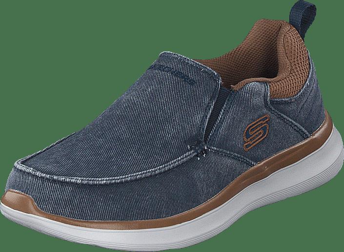 Skechers - Mens Delson 2.0 Nvy