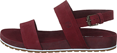 Malibu Waves 2 Band Sandal Chocolate Truffle