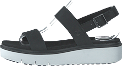 Safari Dawn 2 Band Sandal Jet Black