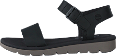 Lottie Lou 1-band Sandal Jet Black