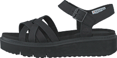 Safari Dawn Multi-strap Sandal Jet Black