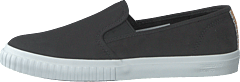 Newport Bay Bumper Toe Slip On Black