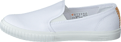 Newport Bay Bumper Toe Slip On White