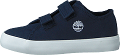 Newport Bay Canvas 2 Strap Ox Black Iris