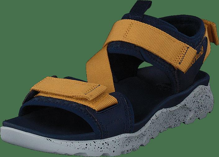 Timberland - Ripcord 2 Strap Sandal Black Iris