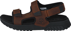 Anchor Watch Back Strap Sandal Buckthorn Brown