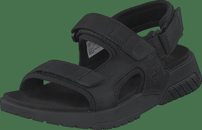 Timberland - Anchor Watch Back Strap Sandal Jet Black
