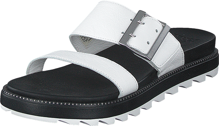 Sorel - Roaming Buckle Slide Sea Salt