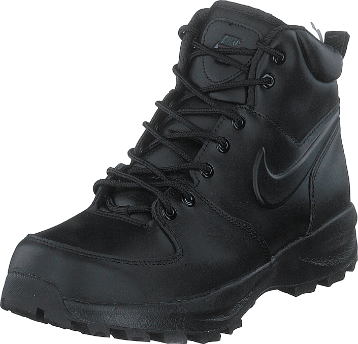 Nike - Manoa Leather Black/black-black