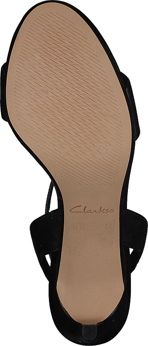 Kjøp Clarks Amali Jewel Black Leather Sko Online