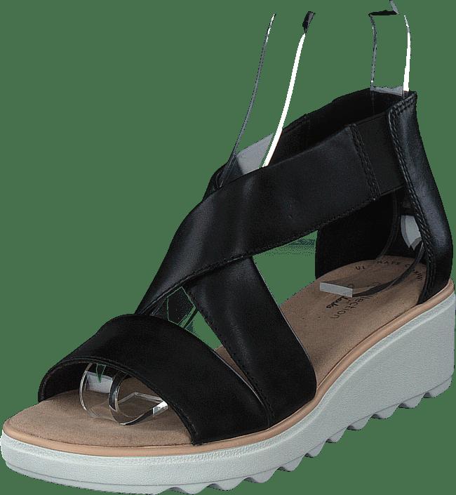 Clarks - Jillian Rise Black Leather