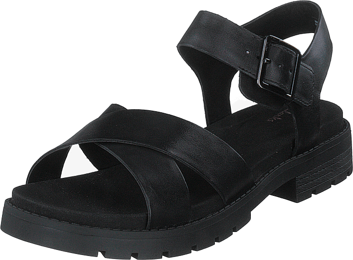 Clarks - Orinoco Strap Black Leather