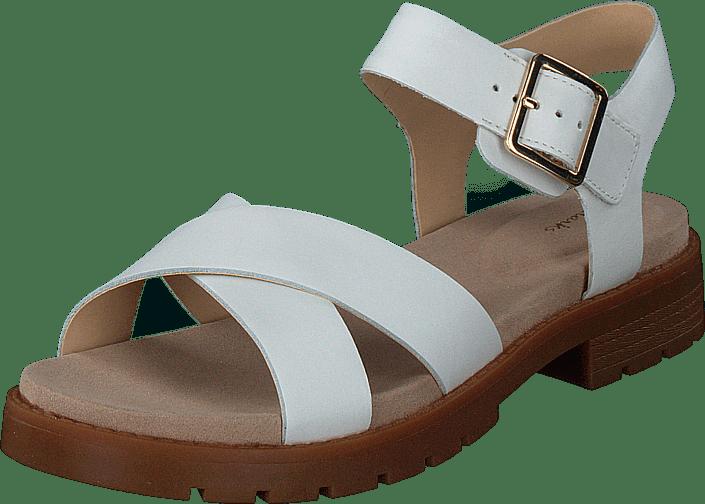 Clarks - Orinoco Strap White Leather