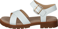 Orinoco Strap White Leather
