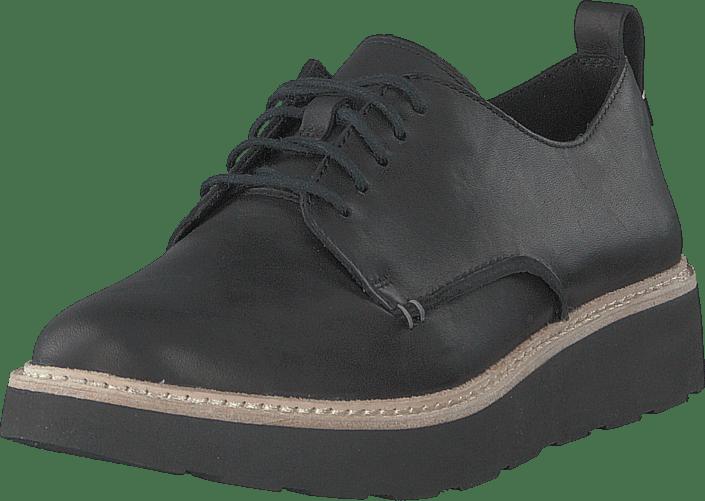Clarks - Trace Walk Black Leather