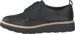 Trace Walk Black Leather