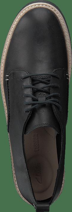 Trace Walk Black Leather