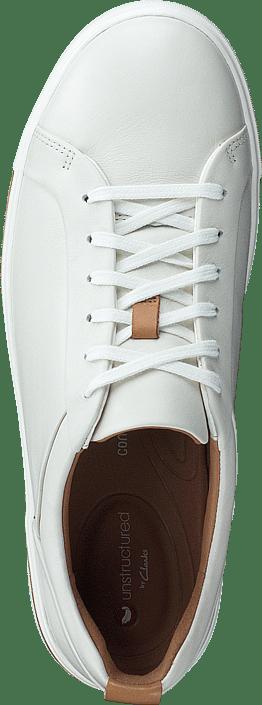 Kjøp Clarks Un Maui Lace White Leather sko Online | FOOTWAY.no