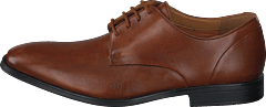 Gilman Plain Dark Tan Lether