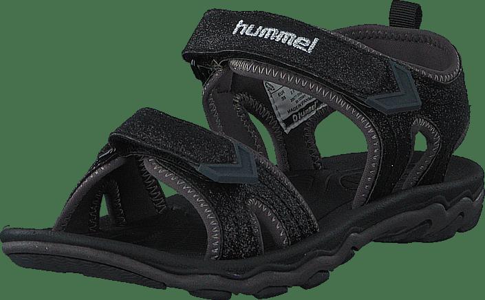 Sandal Sport Glitter Jr Black