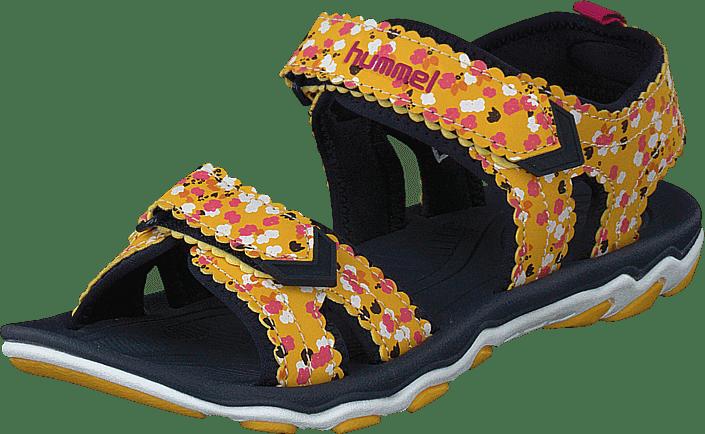 Hummel - Sandal Sport Flower Jr Golden Rod