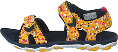 Sandal Sport Flower Jr Golden Rod
