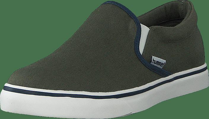 Hummel - Slip On Jr Deep Lichen Green