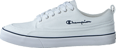 Low Cut Shoe Crew White