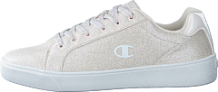 Low Cut Shoe Alex Canvas Glitt Peach Whip