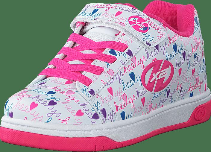 Heelys - Heelys X2 Dual Up White/pink/multi